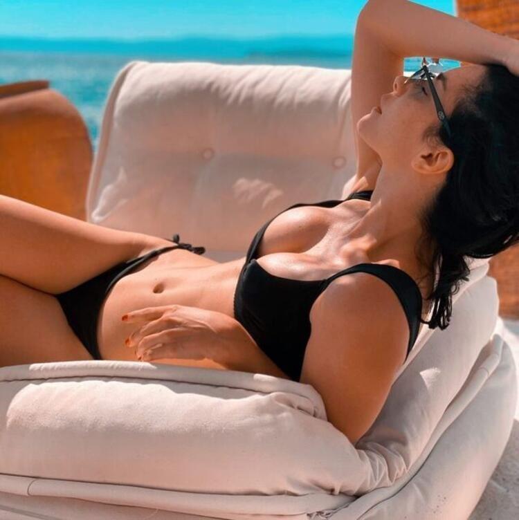 Merve Boluğur'dan bikinili paylaşım - Resim: 3