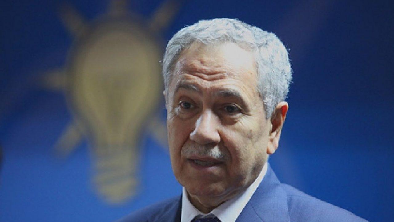 AK Partili Bülent Arınç sessizliğini bozdu