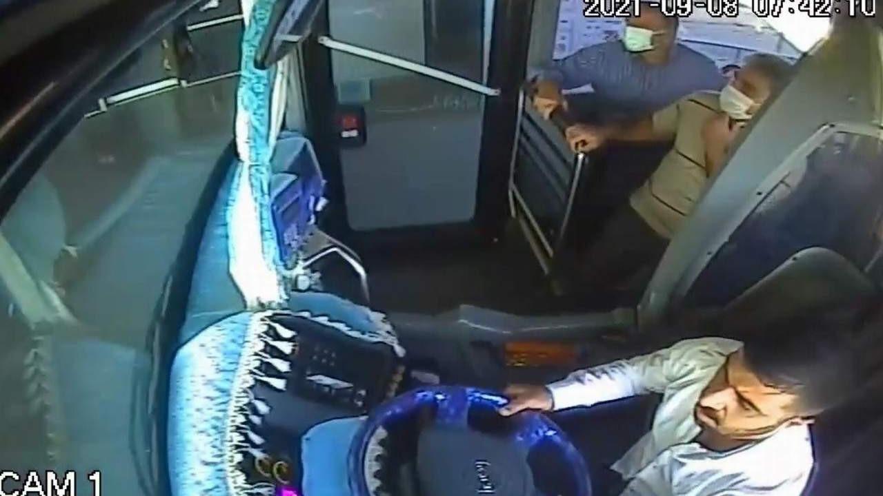 Halk Otobüsü şoförü günün kahramanı oldu