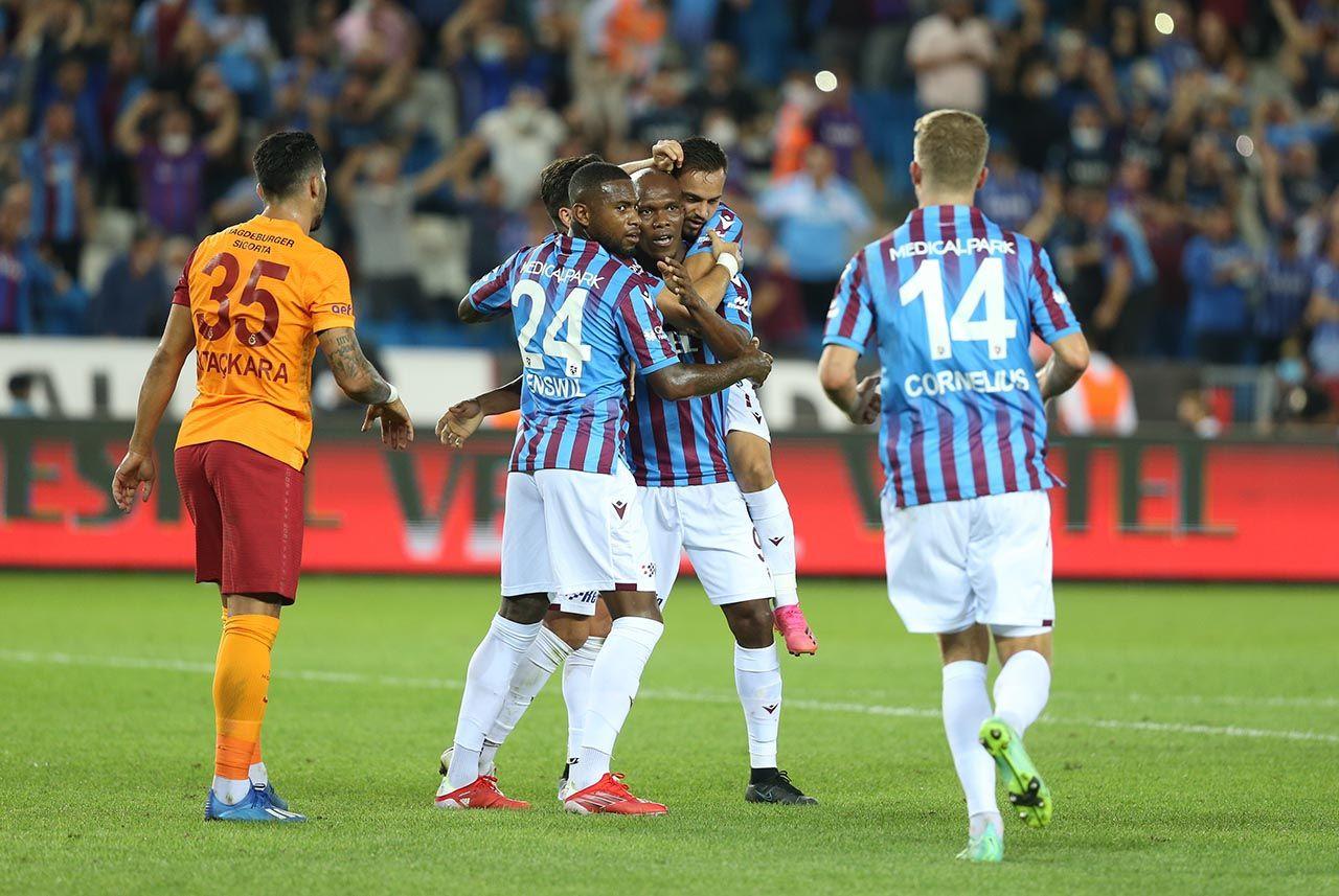 Trabzonspor ile Galatasaray 1'er puanı paylaştı - Resim: 1