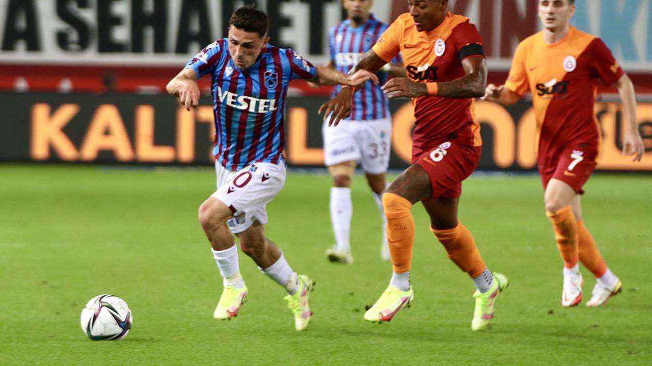 Trabzonspor ile Galatasaray 1'er puanı paylaştı