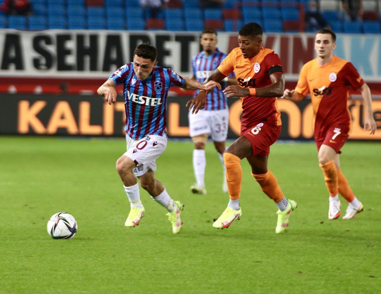 Trabzonspor ile Galatasaray 1'er puanı paylaştı - Resim: 4