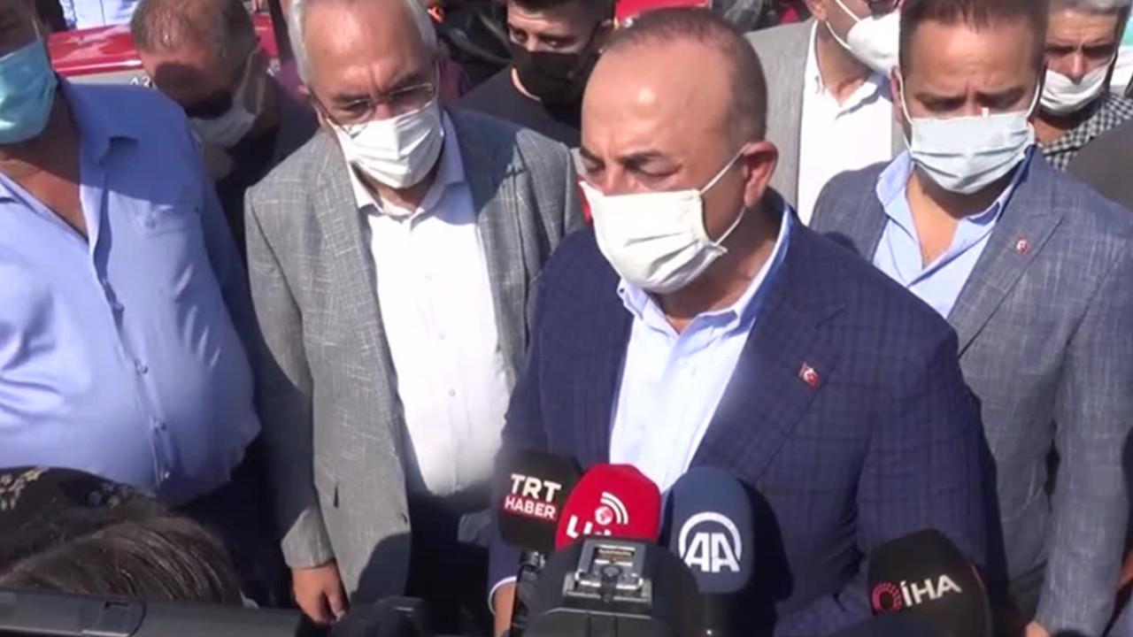 Bakan Çavuşoğlu: ''Afganları hemen göndermek doğru değil''