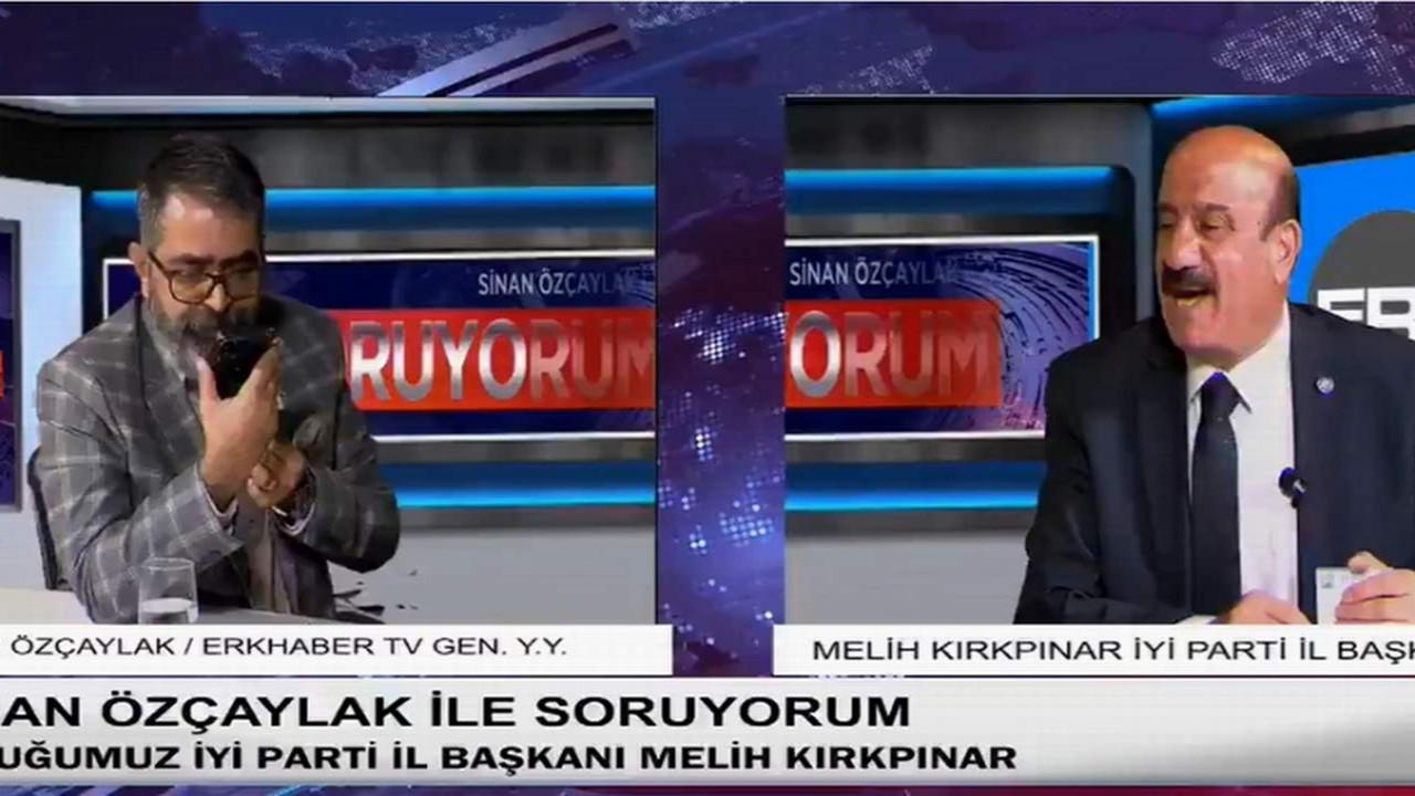 AK Partili Belediye Başkanı'ndan canlı yayında küfür