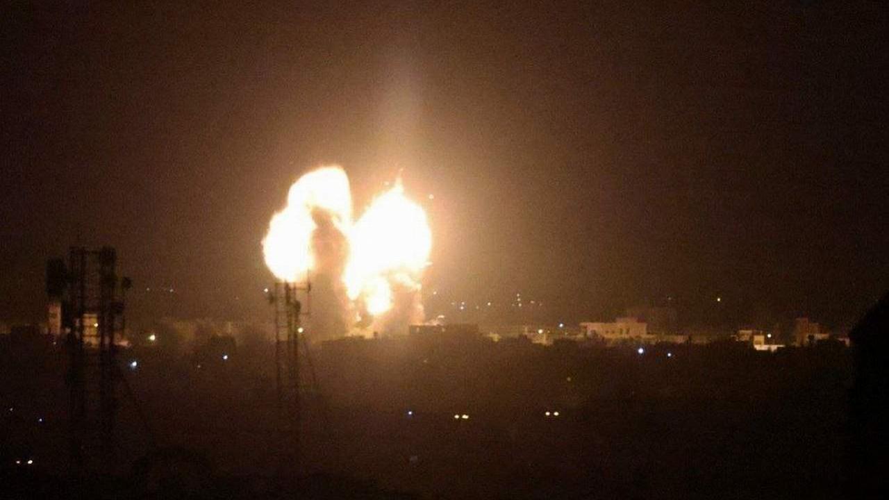 İsrail Gazze'ye yine füze yağdırdı