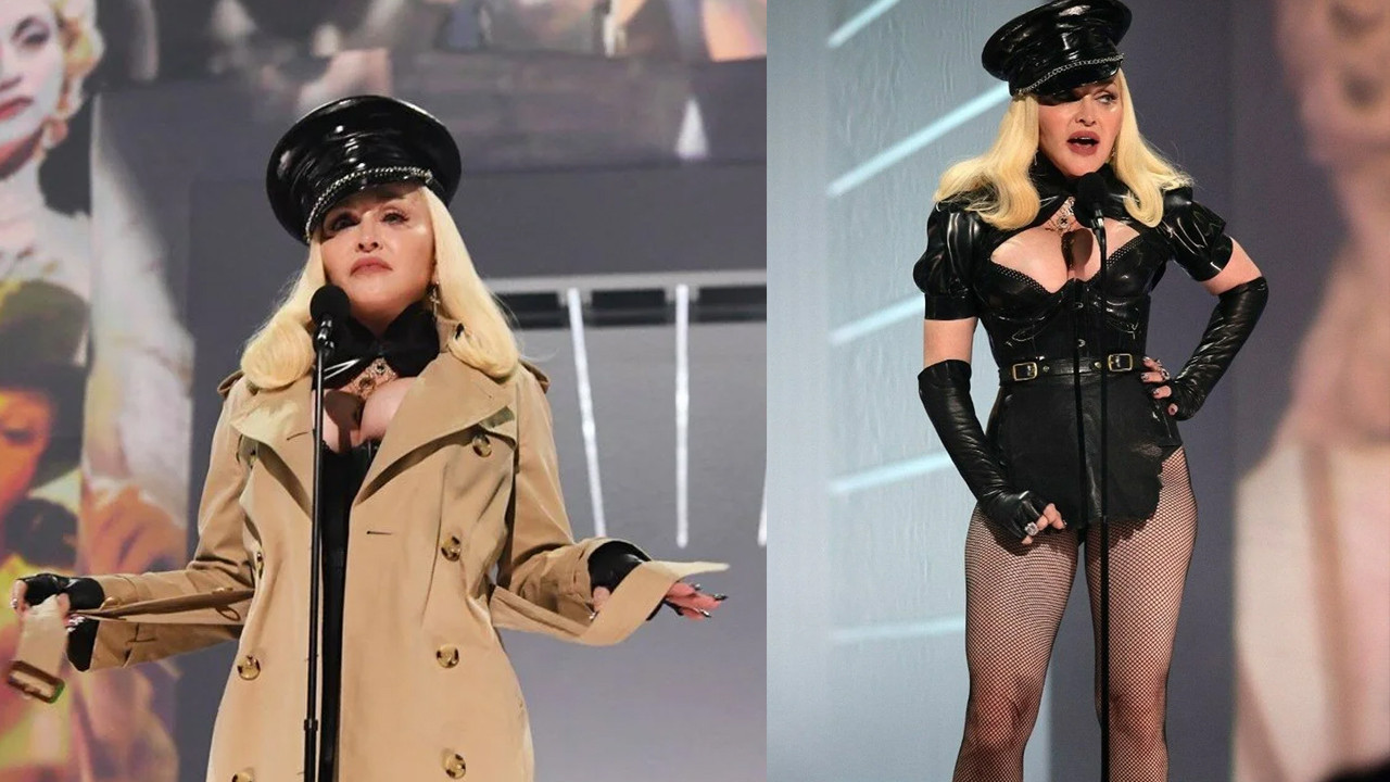 Madonna kıyafetiyle 2021 MTV Video Müzik Ödülleri'ne damga vurdu