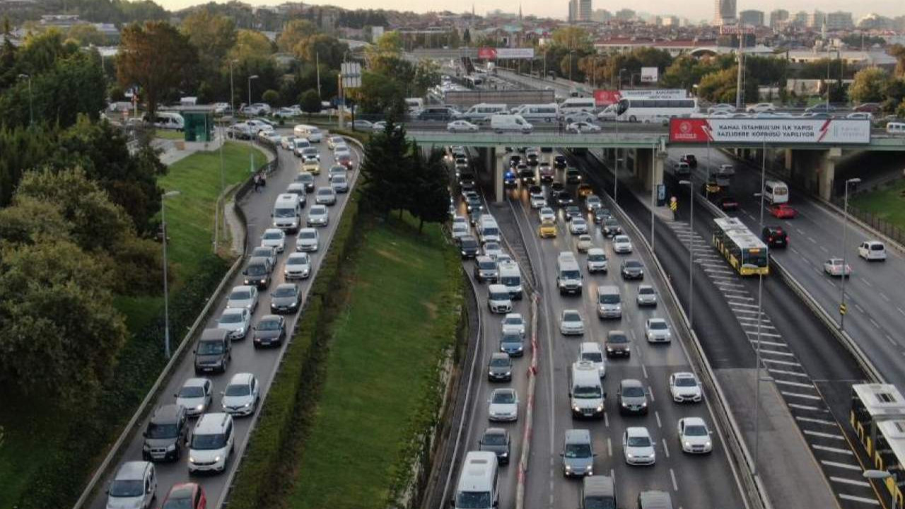 İstanbul'da trafik yine arapsaçı