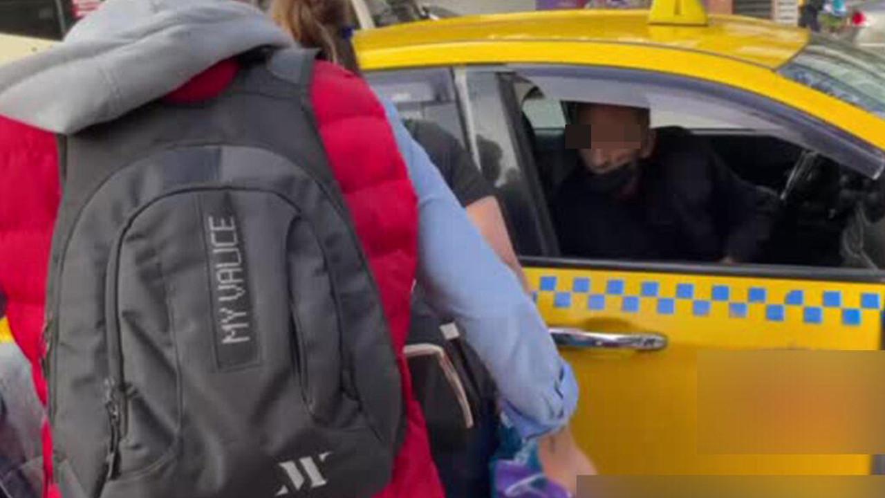 ''İstediğin yere şikayet et'' diyen taksicinin cezası belli oldu