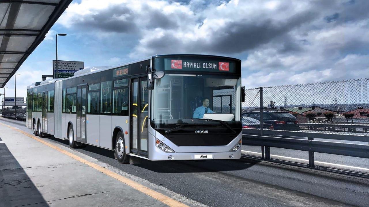 İBB, İstanbul'un yeni metrobüslerini tanıttı