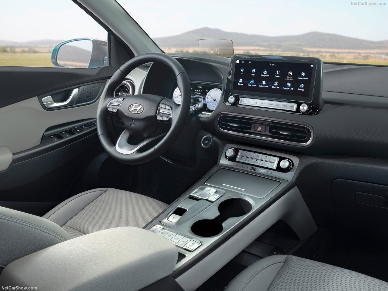 Hyundai'nin yeni elektrikli SUV'u Türkiye'de... İşte 2021 Hyundai Kona Electric - Resim: 1