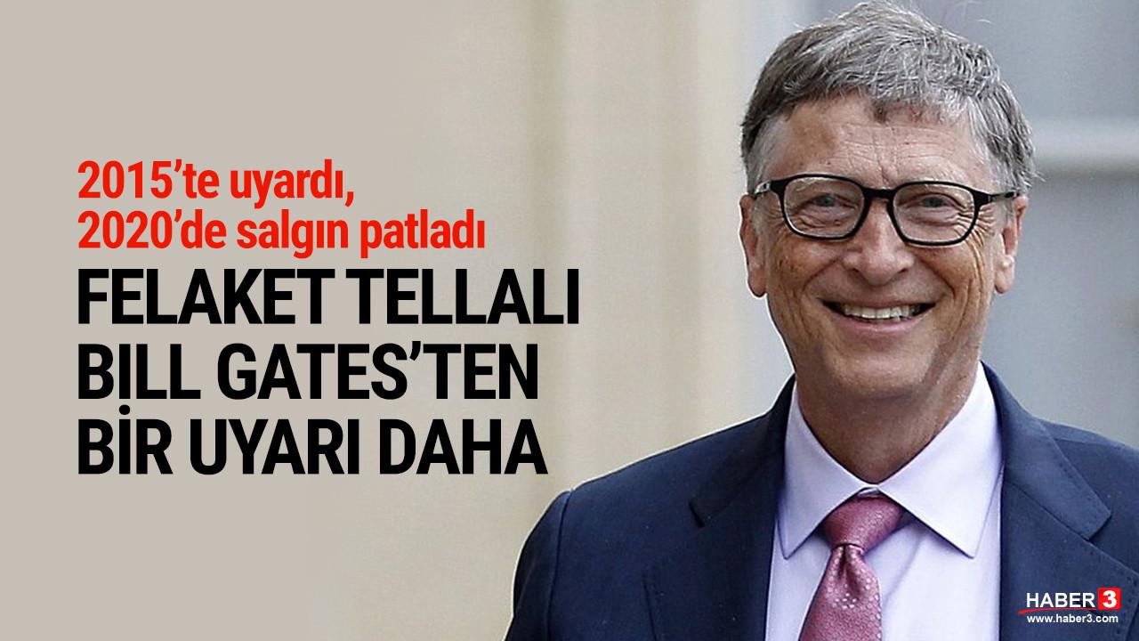 Bill Gates'ten korkutan uyarı