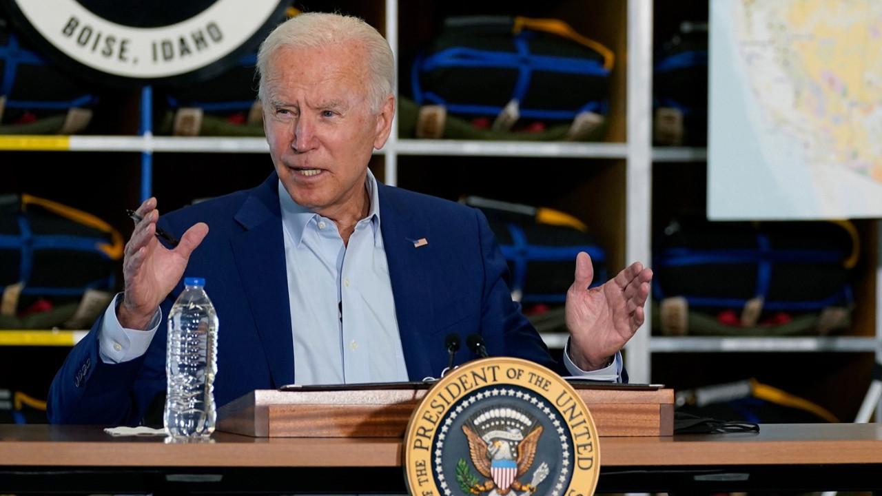 ABD Başkanı Biden'a canlı yayın şoku