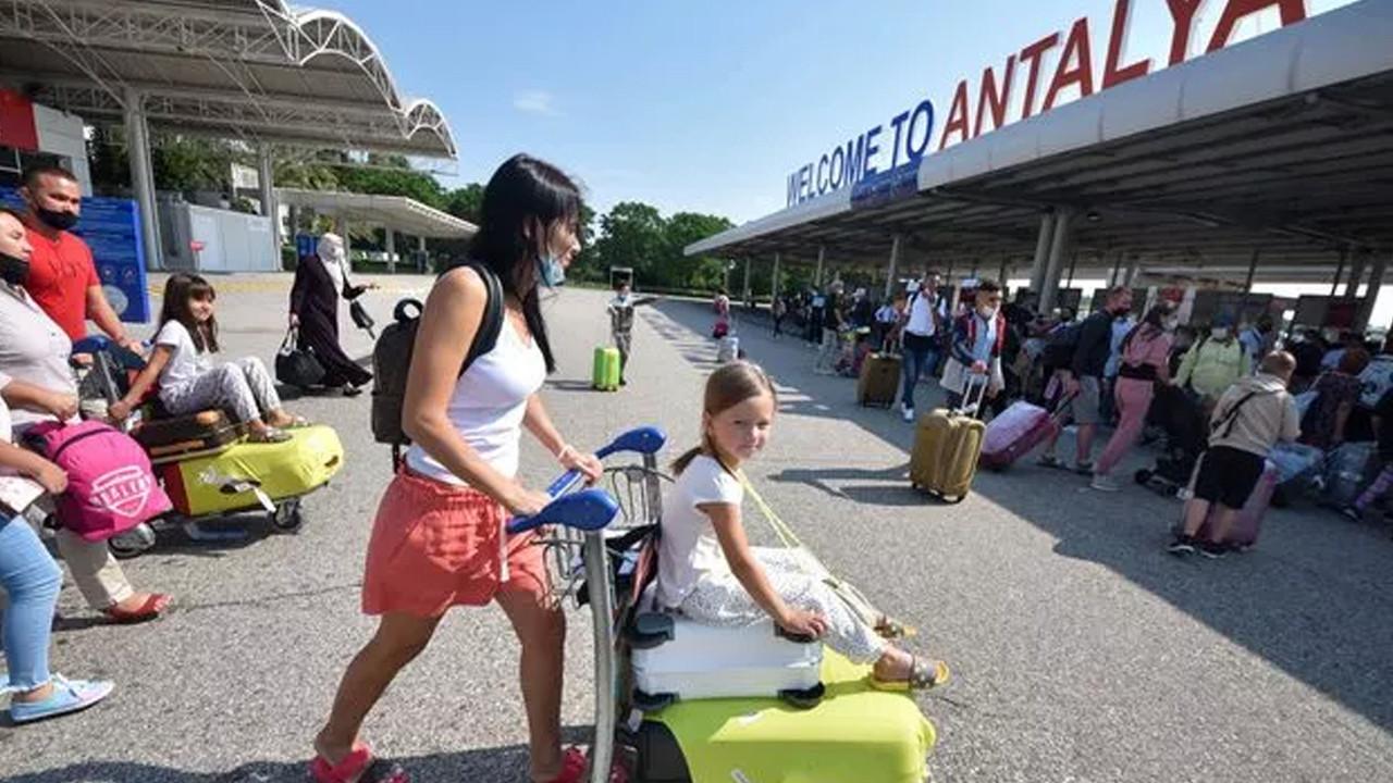 Turist sayısı geçen yıla göre yüzde 202 arttı