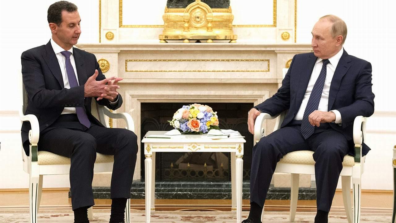 Esad ile görüşen Putin Türkiye'yi mi kastetti ?