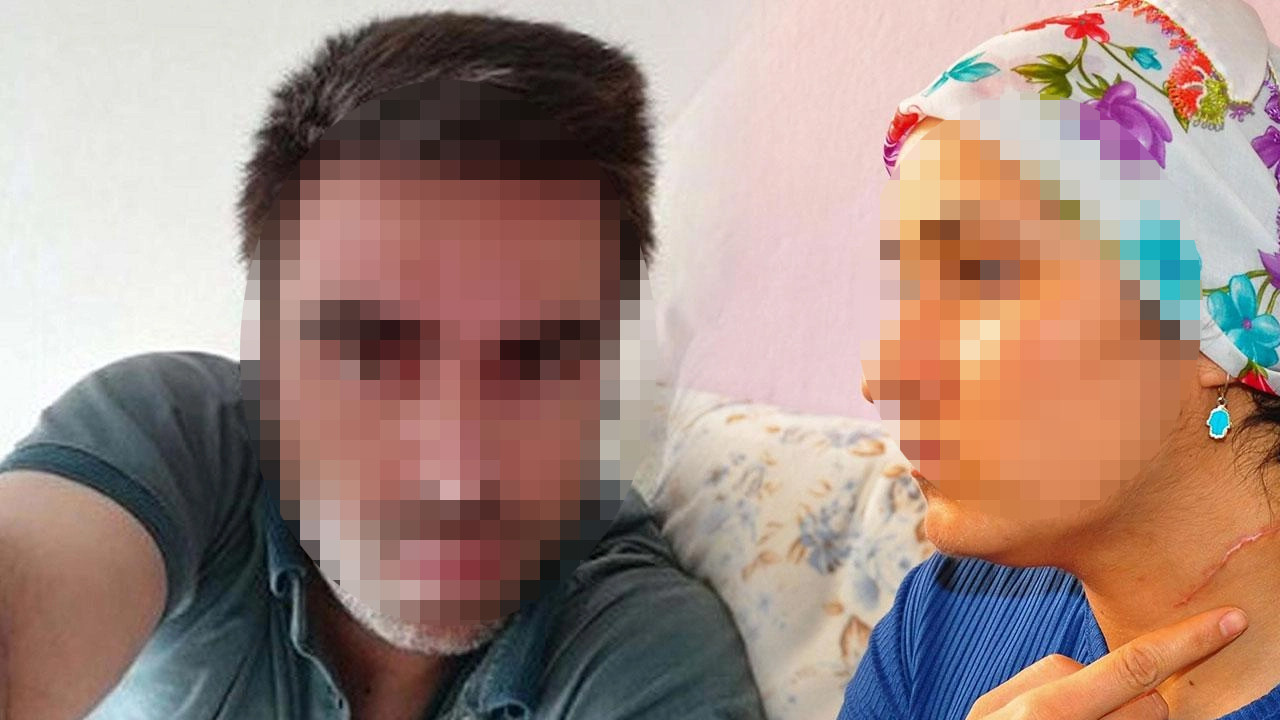 Eşinin boğazını keserek yaralamıştı: Duruşmada hakimden sert çıkış
