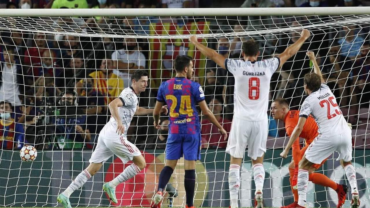 Barcelona'ya B. Münih darbesi: 0-3