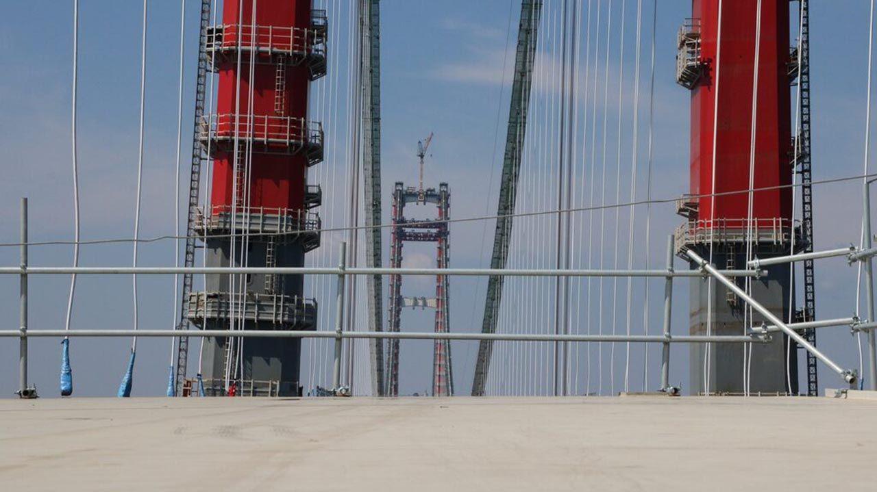 Çanakkale Köprüsü'nün üstünde ilk çekim... Ay sonu tamamlanıyor! - Resim: 4