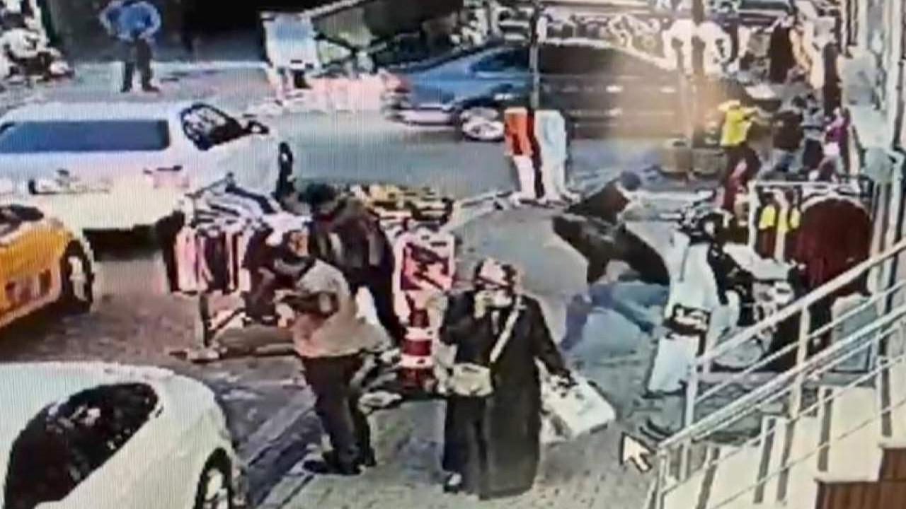 İstanbul'da motosikletli saldırgan dehşet saçtı