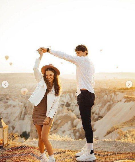 Cedi Osman'ın evlilik teklifine ''evet'' diyen Ebru Şahin o anları paylaştı - Resim: 4