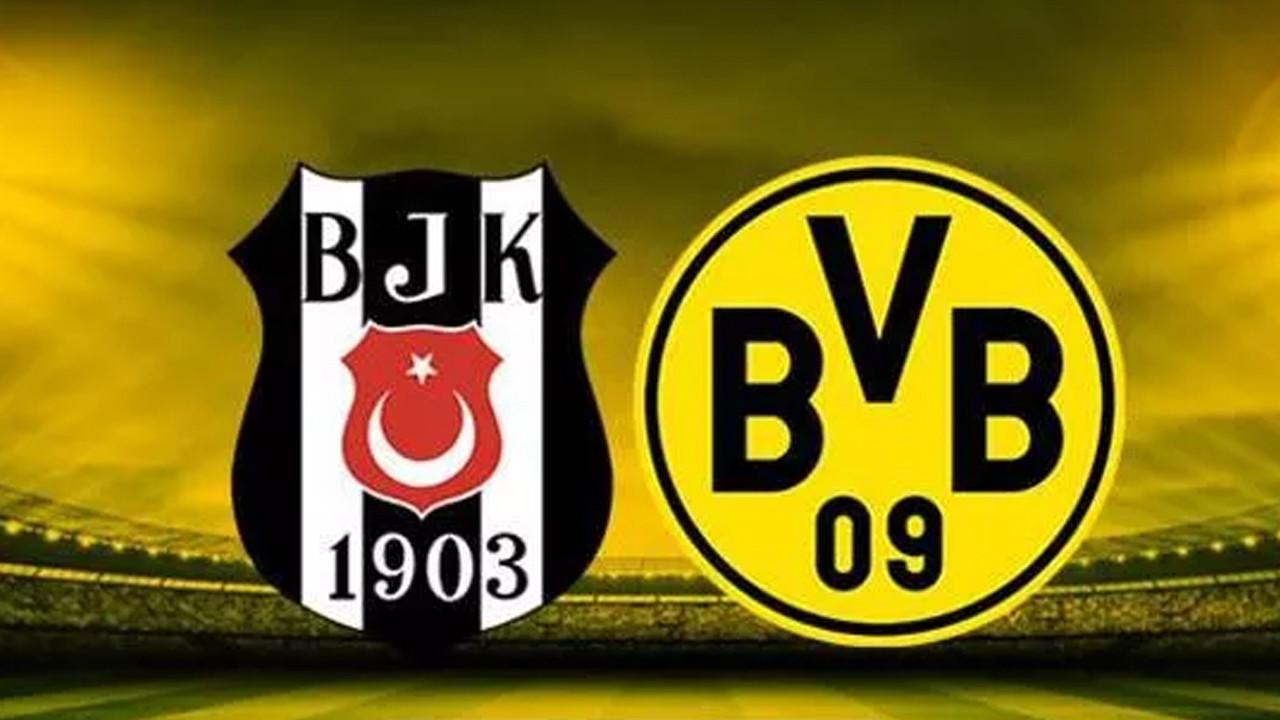 Beşiktaş'ın Dortmund karşısındaki 11'i belli oldu