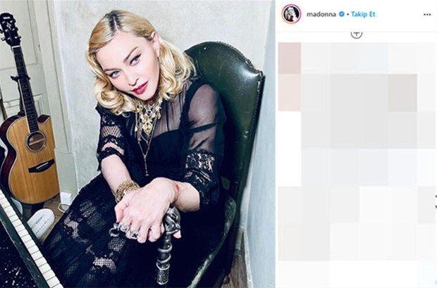 Madonna tuvaletten paylaştı ortalık yıkıldı: Bu ne hal? - Resim: 2