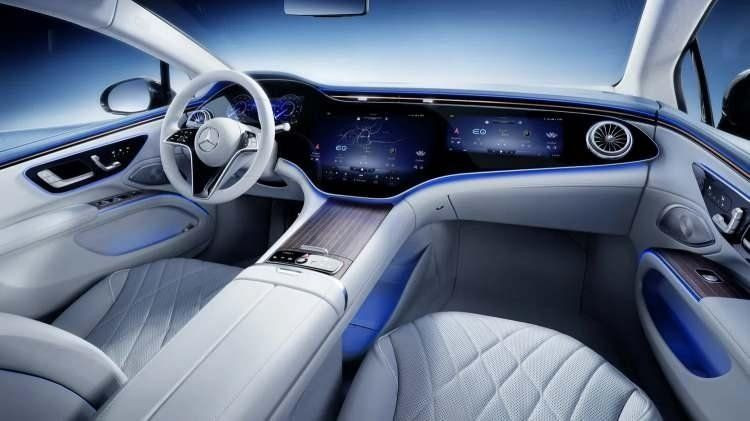 Mercedes'in elektrikli süper otomobili Mercedes EQS Türkiye'de - Resim: 3