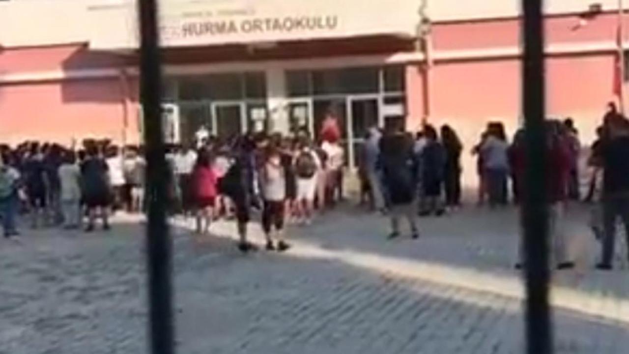 Görüntüler tepki çekmişti! Öğrencileri tehdit eden öğretmen için karar verildi
