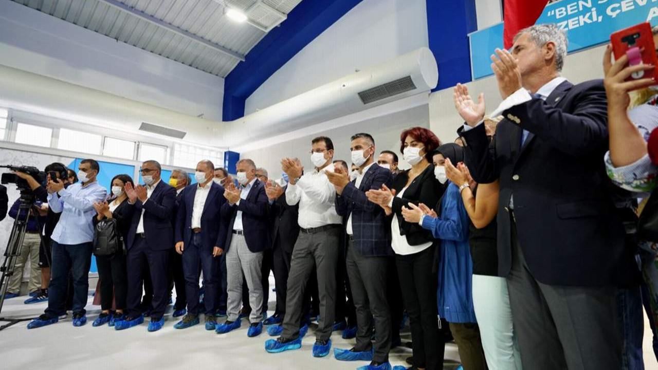 İmamoğlu Beyoğlu'ndaki yüzme havuzu açılışında müjdeyi verdi: ''Hedef 5 bin yatak''