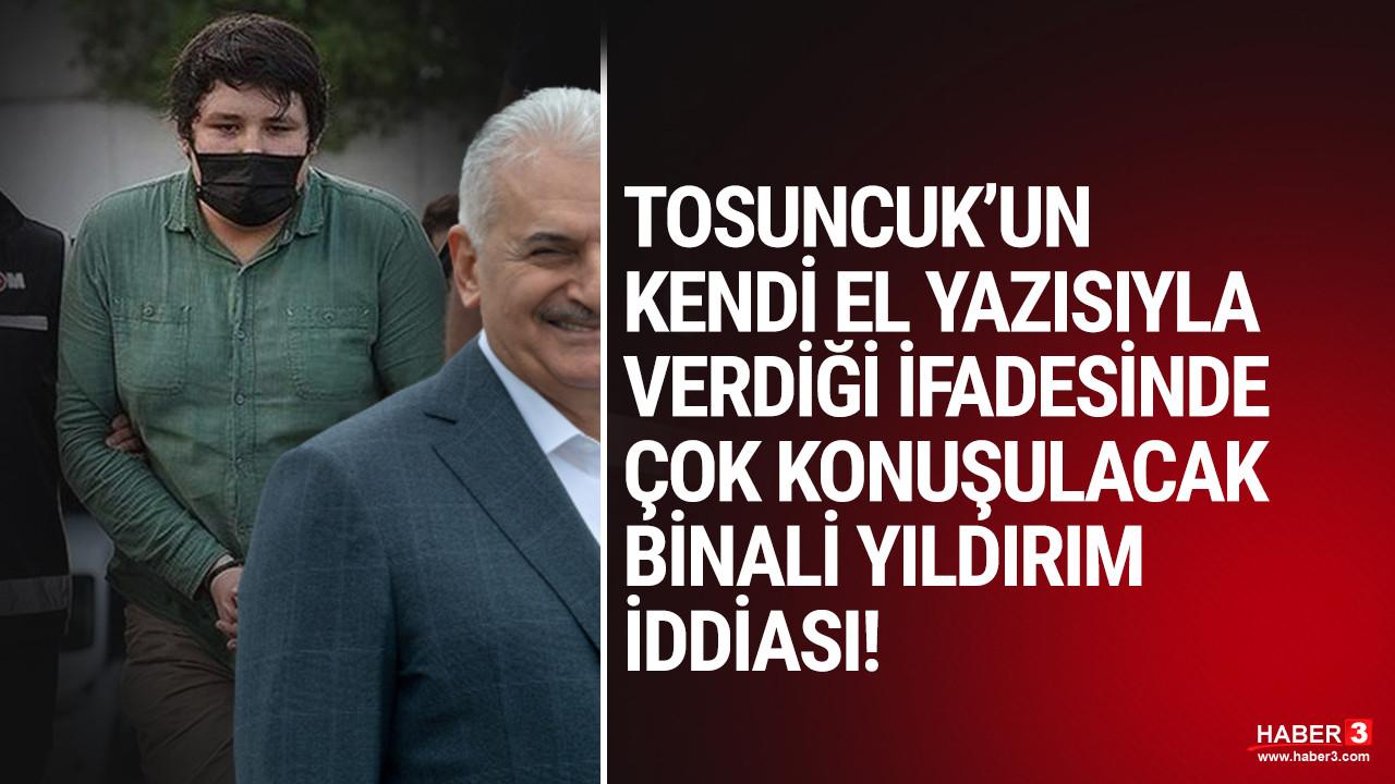 Tosuncuk Mehmet Aydın'dan olay olacak Binali Yıldırım iddiası