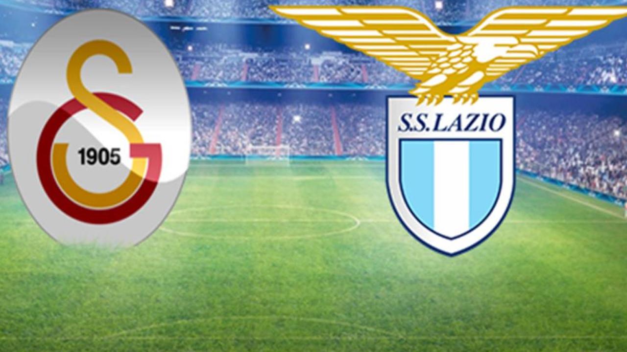 Galatasaray Lazio maçında 1'ler belli oldu