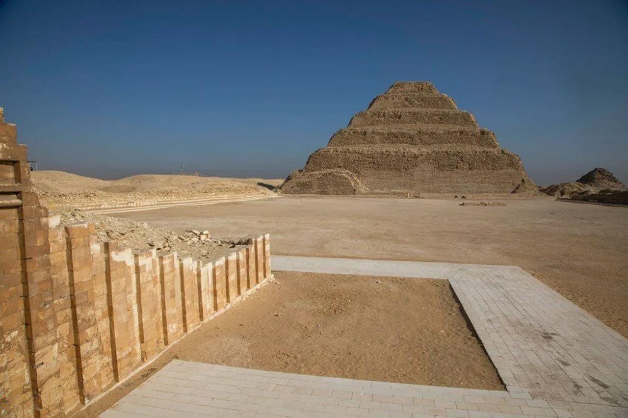15 yıldır restore edilen Firavun Zoser'in mezarı yeniden açıldı - Resim: 1