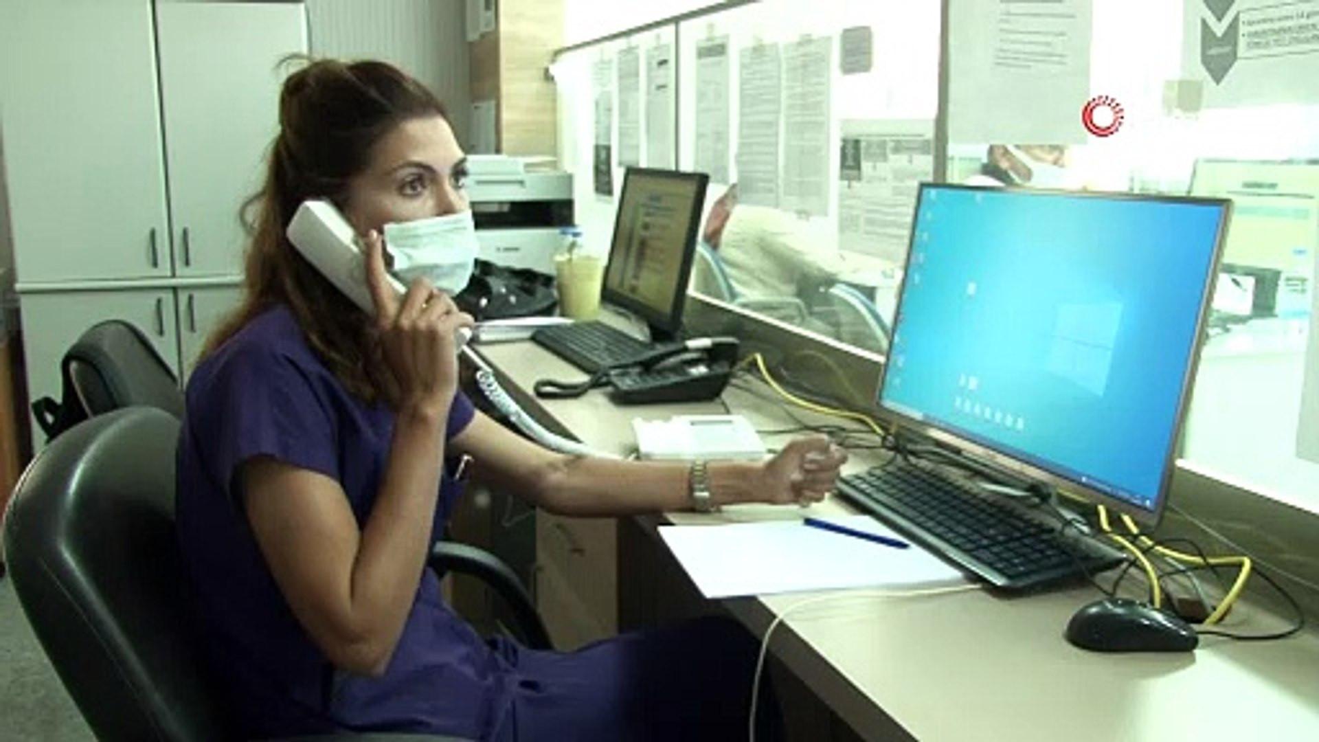 Covid-19 Çağrı Merkezi'nde yerli aşı ''TURKOVAC'' yoğunluğu