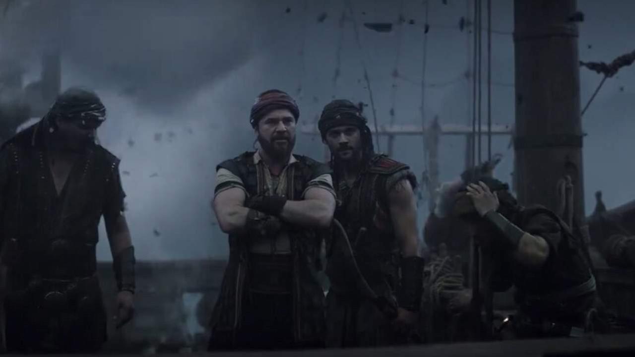 Barbaroslar Akdeniz'in Kılıcı'nın ilk bölümüne damga vuran sahne