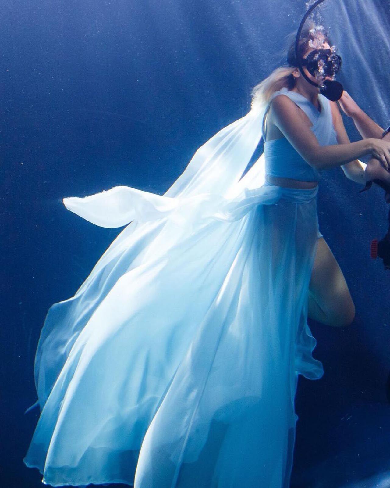 Hadise'den su altında klip - Resim: 4