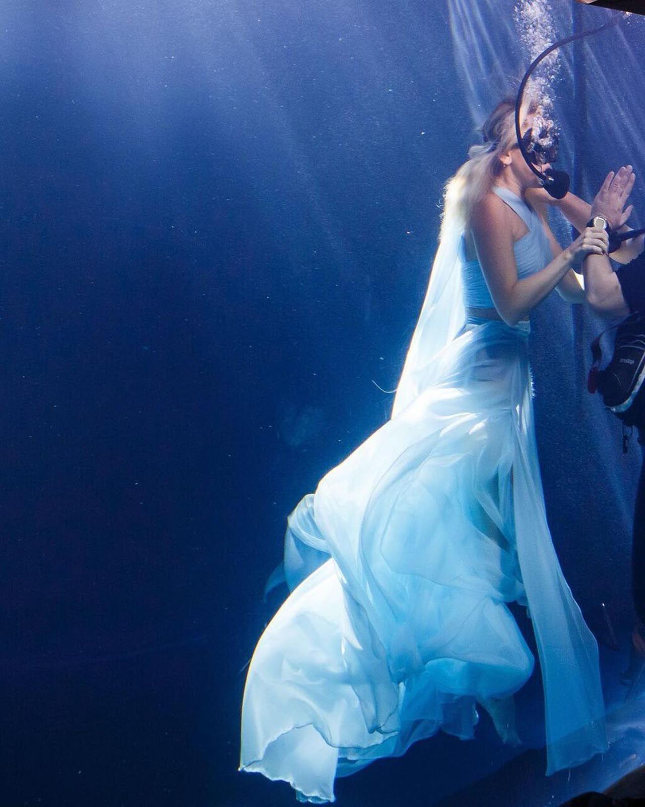 Hadise'den su altında klip - Resim: 3