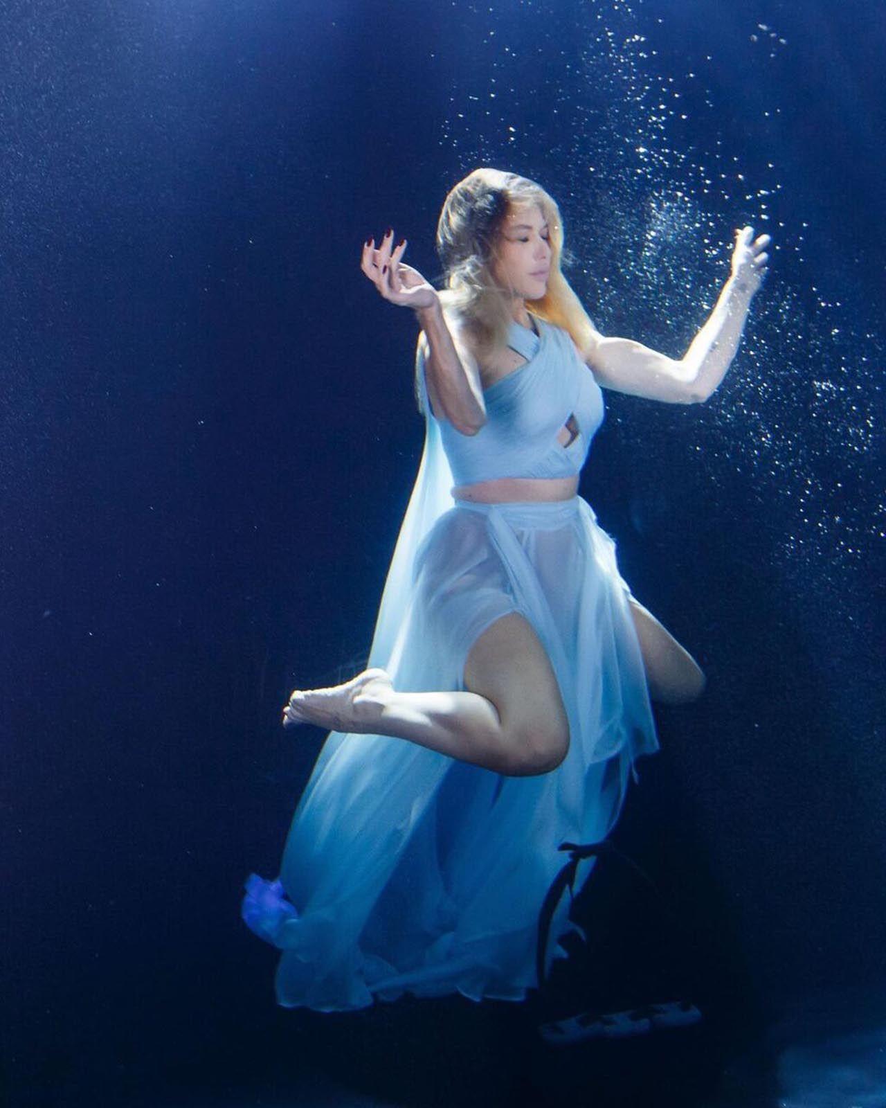 Hadise'den su altında klip - Resim: 2