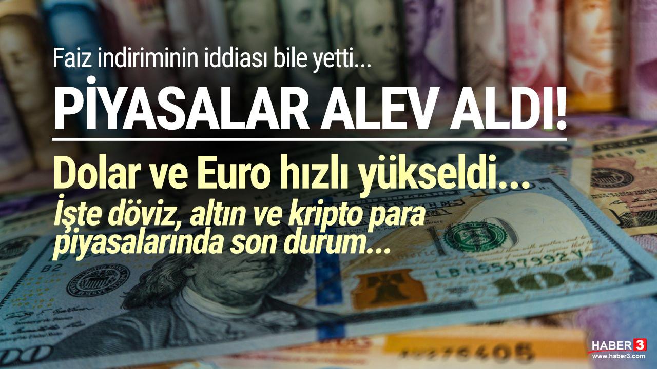 Merkez'den yeni dolar ve enflasyon tahmini geldi, dolar ve euro hareketlendi