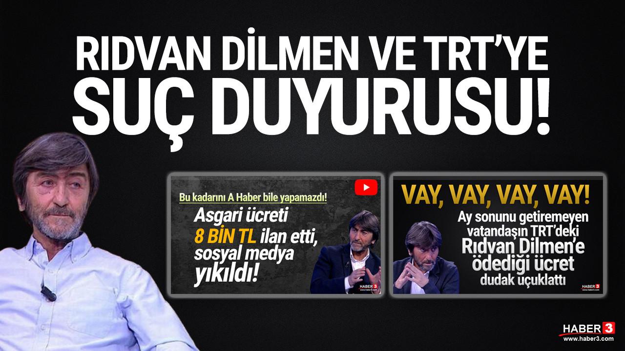 Rıdvan Dilmen ve TRT yöneticileri hakkında suç duyurusu