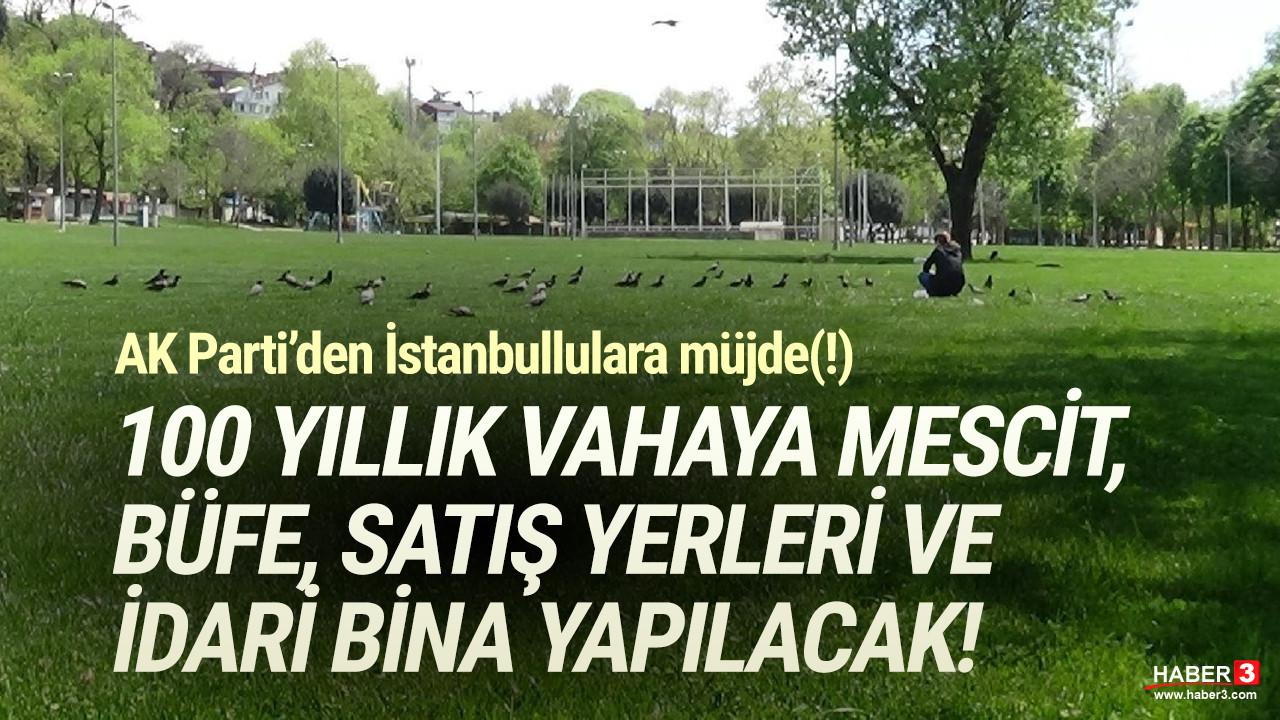 İstanbul'un 100 yıllık tarihi alanı Millet Bahçesi oldu