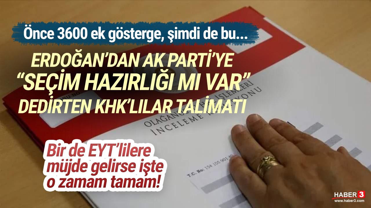 ''Seçim hamlesi mi'' dedirten gelişme... AK Parti KHK'liler için düğmeye bastı
