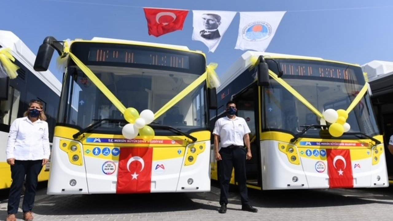 Mersin Büyükşehir, ulaşım filosunu gençleştiriyor