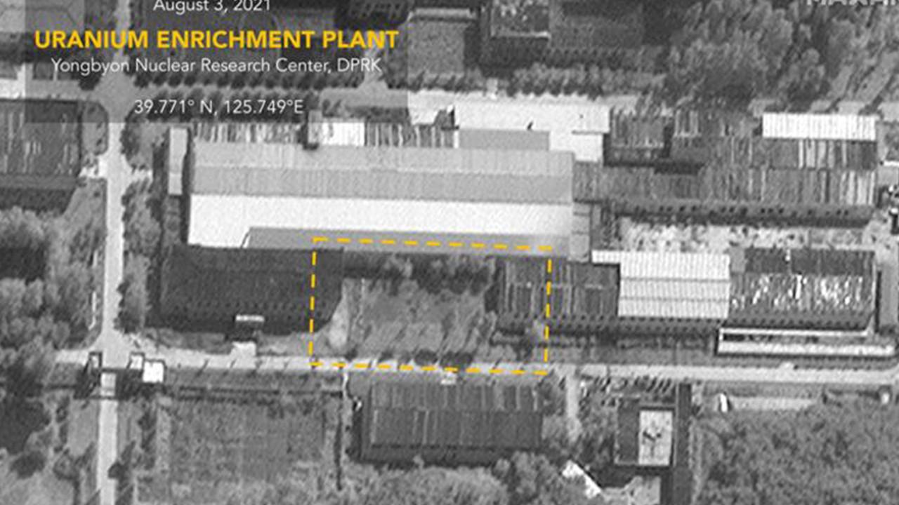 Kuzey Kore'nin uranyum tesisi görüntülendi