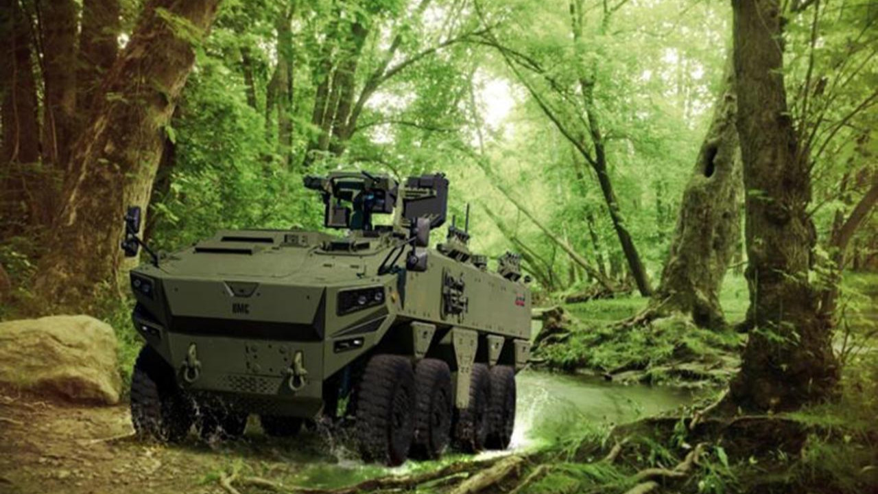 Türkiye'nin yeni zırhlı aracı Altuğ sahaya iniyor