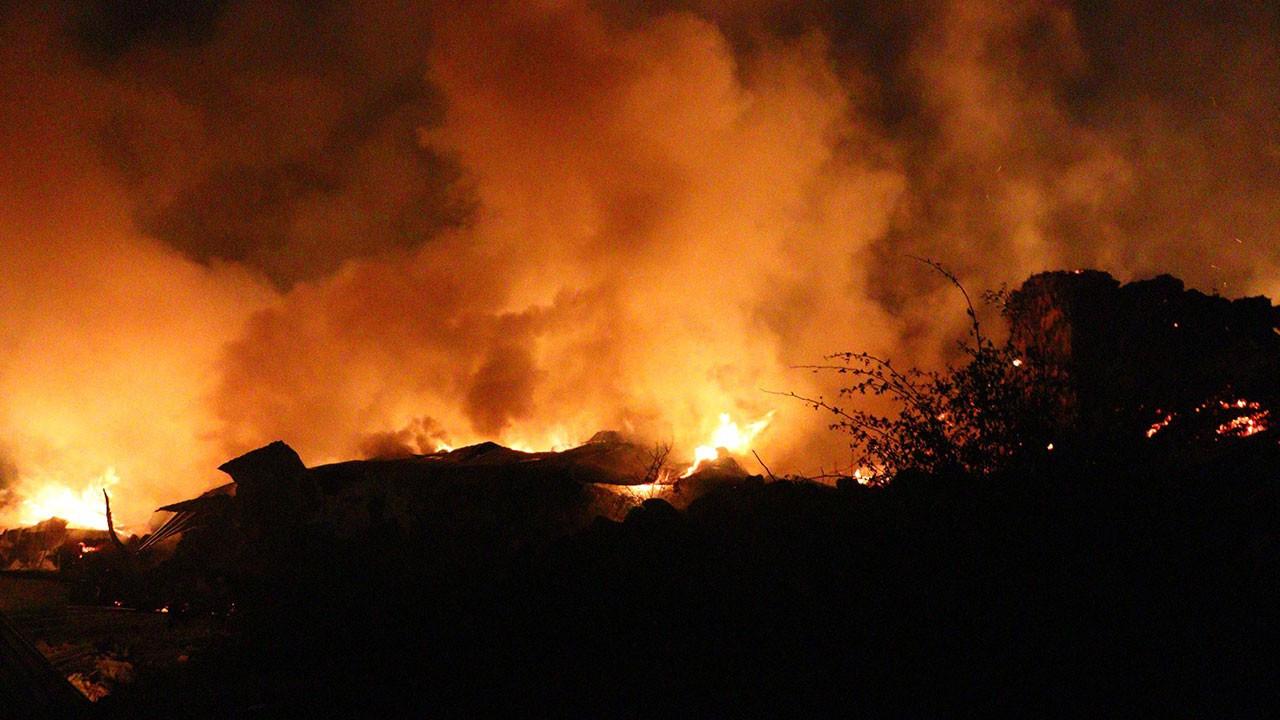 Ankara'da kabus gecesi: 8 ev kül oldu