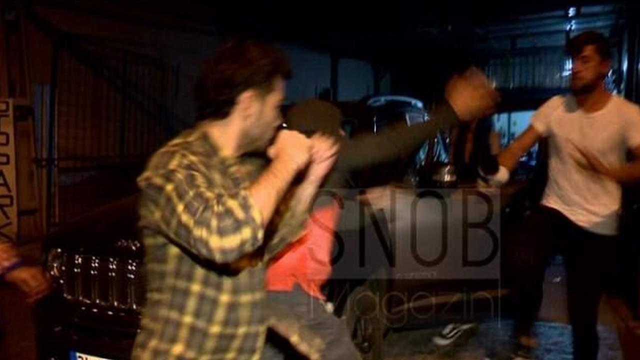 Yasak Elma'nın güzeli dizinin yönetmeni ile yakalanınca... Gazetecilere yumruklu saldırı!