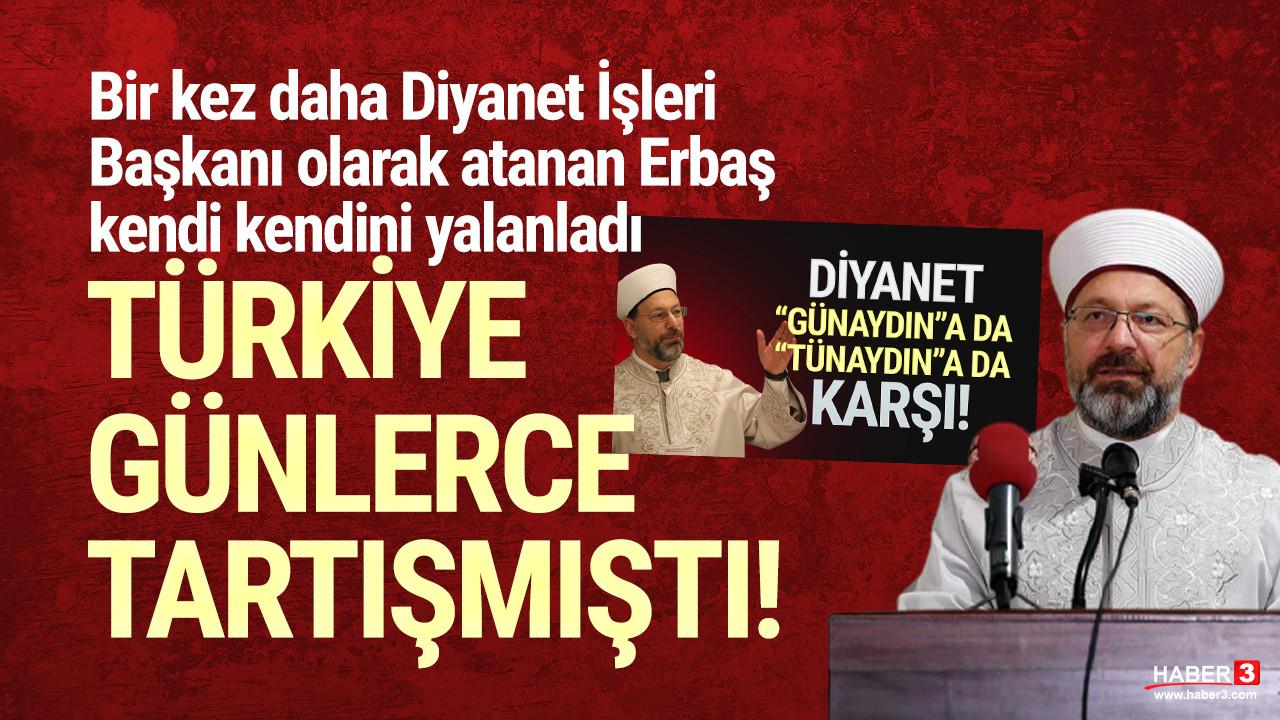 Diyanet İşleri Başkanı Erbaş'tan ''günaydın'' açıklaması