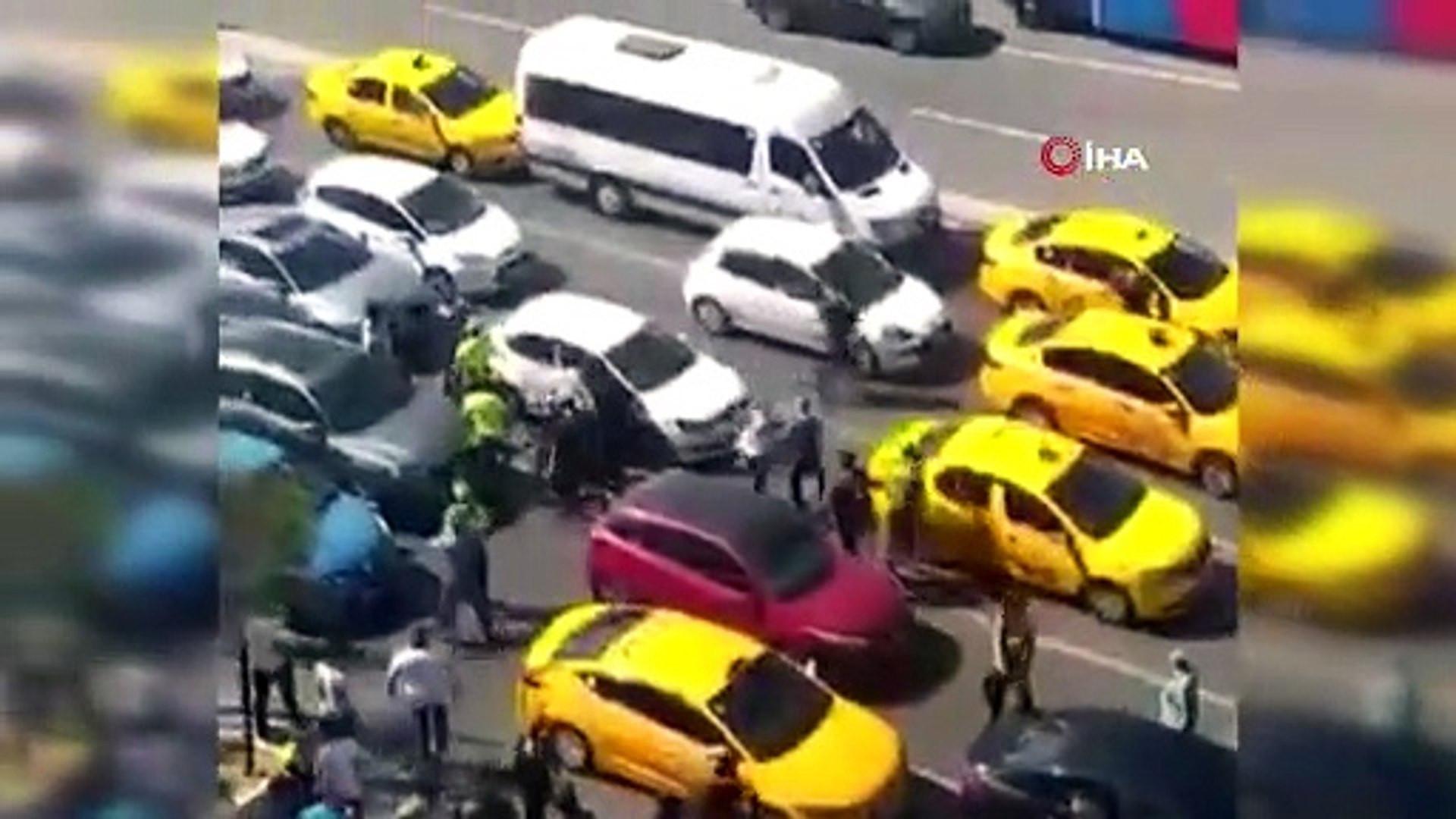 İstanbul'un göbeğinde ''cam silici'' terörü