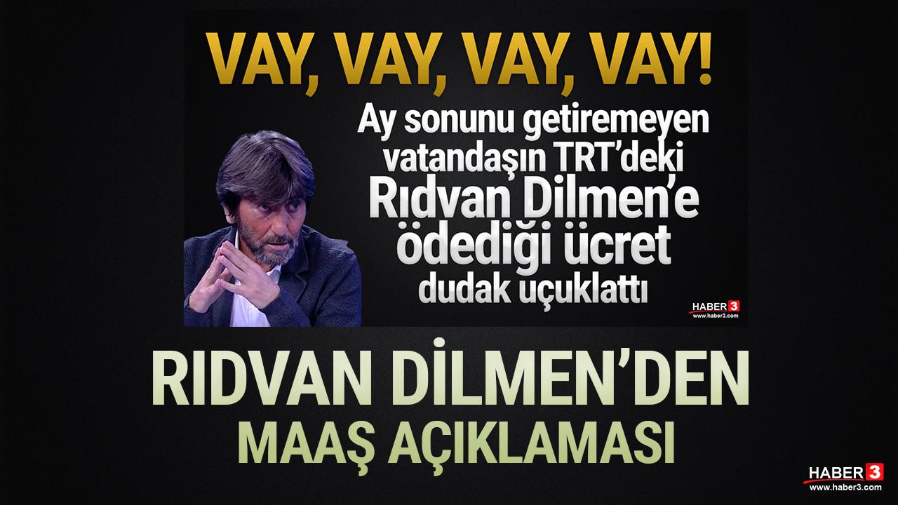 Rıdvan Dilmen'den maaş açıklaması