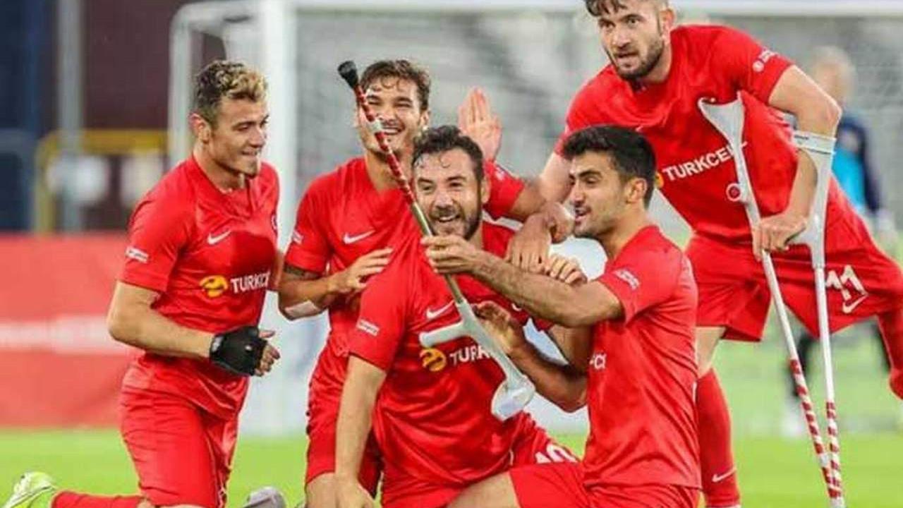 Bravo gençler! Ampute Milli Takımı Avrupa şampiyonu oldu