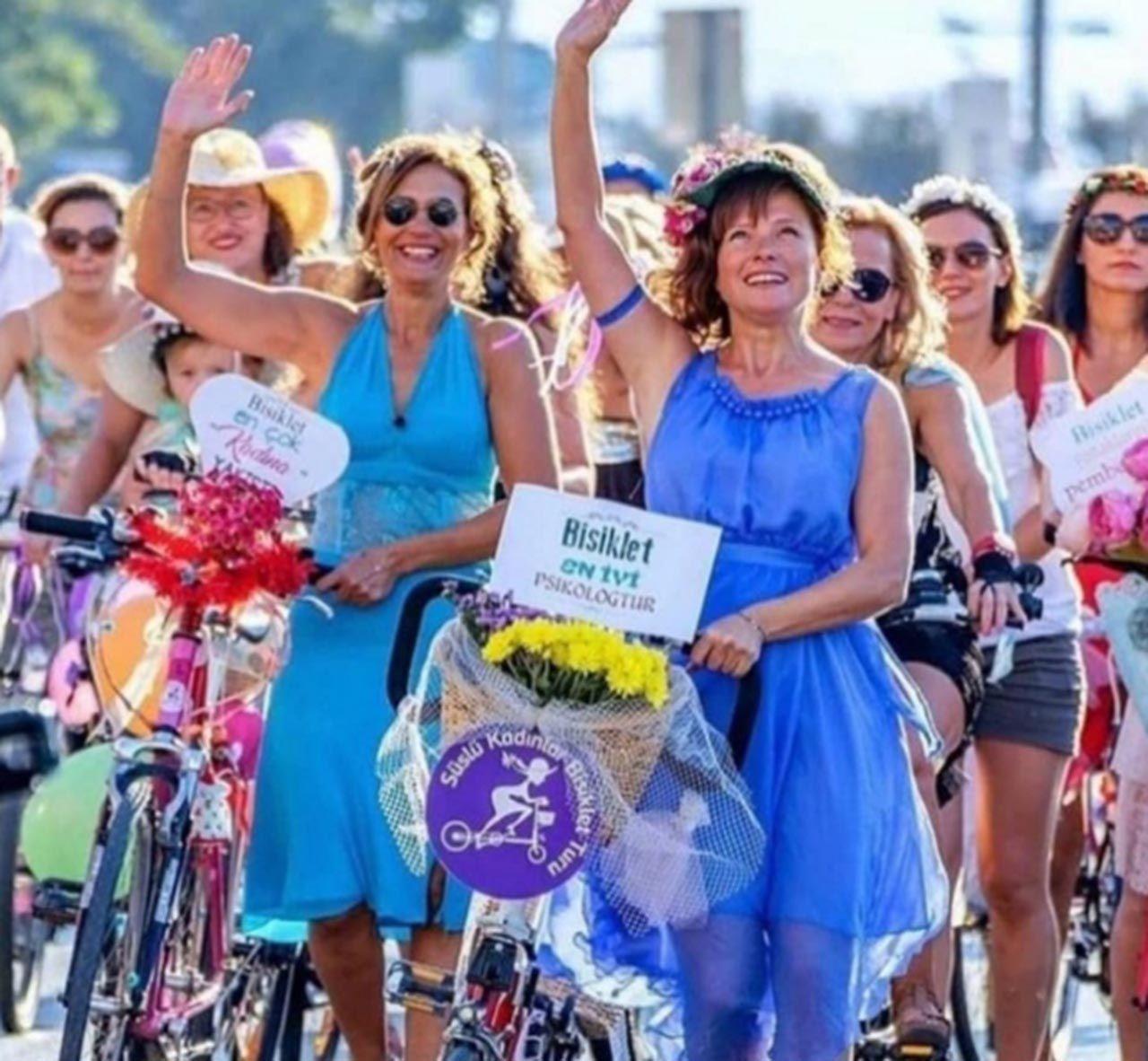 Süslü kadınlar tam 155 şehirde sokakları renklendirdi - Resim: 1